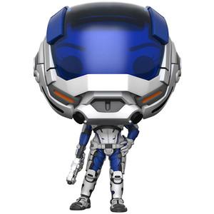Sara Ryder [Masked] (GameStop Exclusive): Funko POP! Games x Mass Effect Vinyl Figure