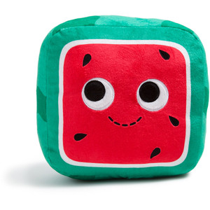 "Kenji Watermelon: ~8"" Kidrobot Yummy World Plush"