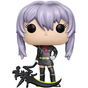 Shinoa Hiragi w/ Scythe (GameStop Exclusive): Funko POP! Animation x Seraph of the End Vinyl Figure