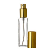 1oz Spray Bottle (Tall Square) w/ Gold or Silver Sprayer & Cap - As Low As $1.18