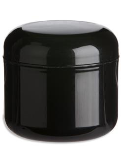 4oz Double Wall Jar in Black