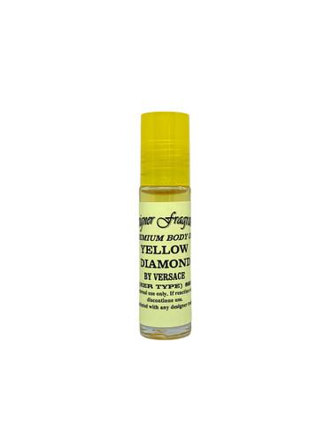 1/3oz Premium Body Oil with Yellow Cap