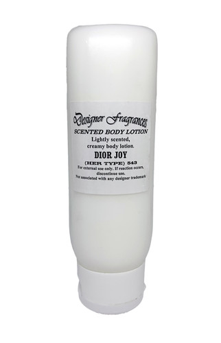 Scented Lotion Tube