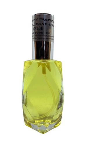 Cologne Spray in Diamond Bottle