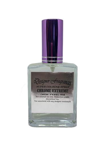 Super Cologne Spray with Purple Cap
