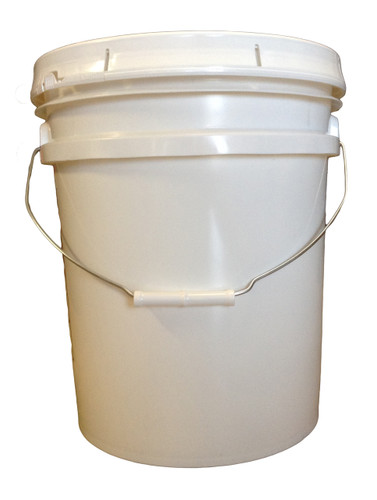 5 gallon pail of shower gel