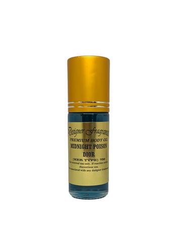 Premium Body Oil with Gold Cap