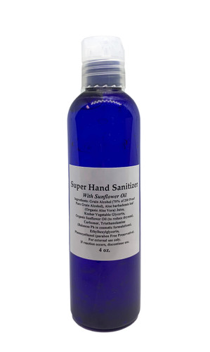 4 oz super hand sanitizer