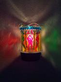 Rainbow Flower Aroma Lamp