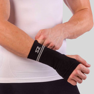 Zensah- Compression Wrist Sleeve, Single
