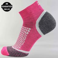 Zensah- Grit Running Socks (Ankle), Pair