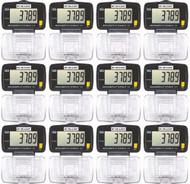 ACCUSPLIT 1620 Pedometers - 12 Pack