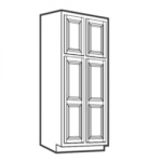 WP2490B Pantry Cabinets