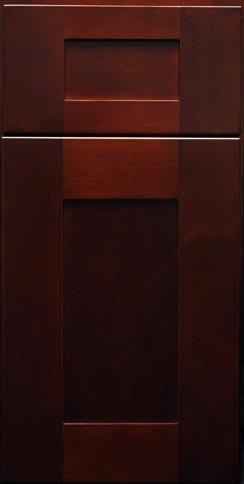 Mocha Shaker Sample Door