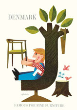 Famous For Fine Furniture Denmark A3 Poster