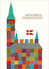 City Hall Wonderful Copenhagen A3 Poster