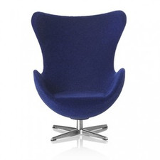 AJ Egg chair, Dark blue 1:16 minimii