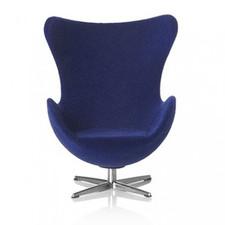 AJ Egg chair, Dark blue 1:16 minimii