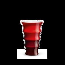 Holmegaard Karen Blixen Vase, red, H 23 cm