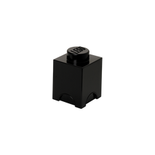 LEGO Storage Brick 1 BLACK