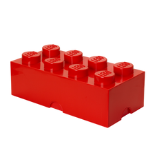 LEGO Storage Brick 8 RED