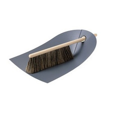 Normann Cph / Dustpan & Broom, dark grey