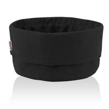 Stelton Bread bag, large, black/black (US)