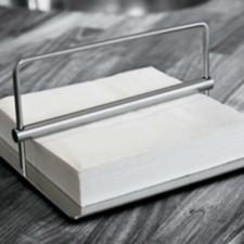 Stelton Original napkin holder, 7.5 x 7.5 in. (US)