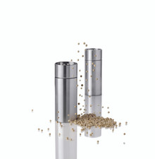 Stelton Arne Jacobsen salt & pepper set, 2.6 in.
