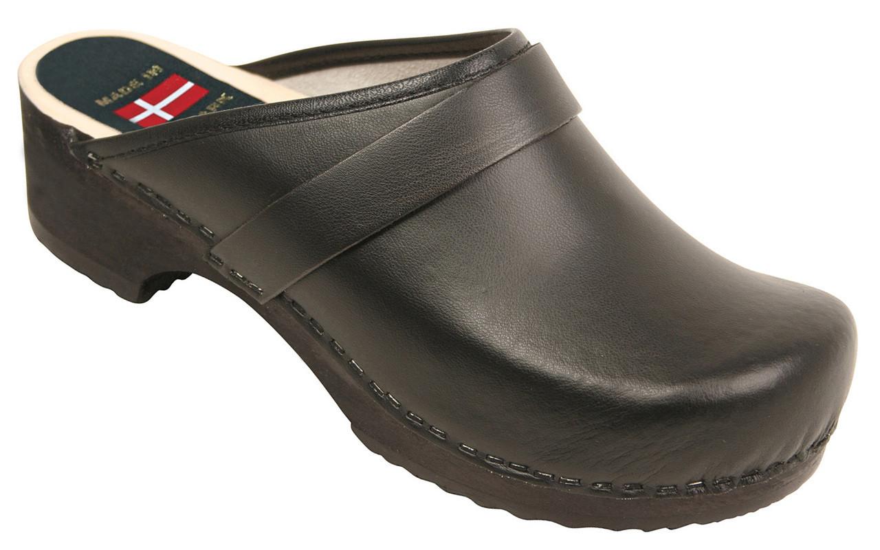 03af85f630113 Danish Clogs - Euro-Dan, Open heel, Black
