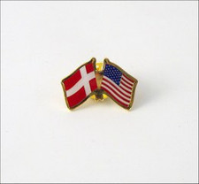 THE COPENHAGEN HOUSE - The Danish American pin
