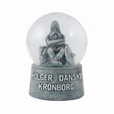THE COPENHAGEN HOUSE - Holger Danske snowglobe