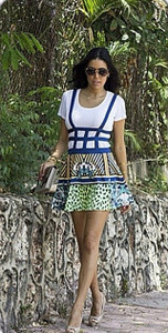 Kiara Suspender Skirt