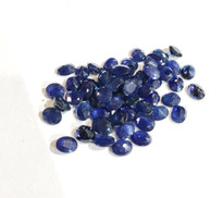 5x4 oval sapphire genuine