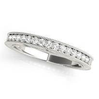 1/4 ct tw WEDDING BANDS 14k GOLD