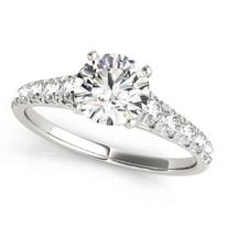 3/4 ct tw ENGAGEMENT DIAMOND  RING