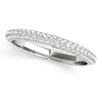 3/8 ct tw WEDDING BAND DIAMOND RING