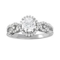 14k White Gold Diamond Engagement Ring (1.82ct t.w)
