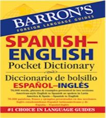 Barron's Spanish-English Pocket Bilingual Dictionary