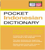 Pocket Indonesian Dictionary (Indonesian-English)