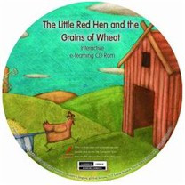 Little Red Hen and the Grains of Wheat Interactive Literacy CD-ROM (Multilingual)