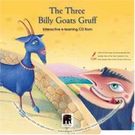 Three Billy Goats Gruff  Interactive Literacy CD-ROM (Multilingual)