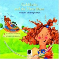 Goldilocks and the Three Bears Interactive Literacy CD-ROM (Multilingual)