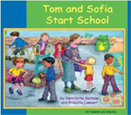 Tom and Sofia Start School (Arabic-English)