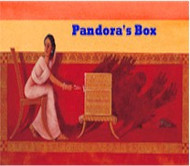 Pandora's Box: A Greek Myth (Albanian-English)
