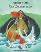 The Children of Lir: A Celtic Legend (Czech-English)