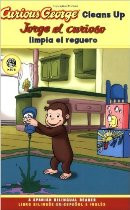 Curious George Cleans Up (Spanish-English)