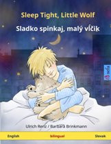 Sleep Tight, Little Wolf (Slovakian-English)