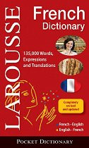 Larousse Pocket Dictionary: French-English/English-French  (French-English)