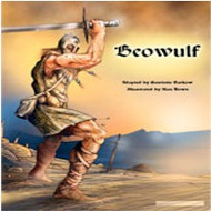 Beowulf: An Anglo-Saxon Epic (Spanish-English)